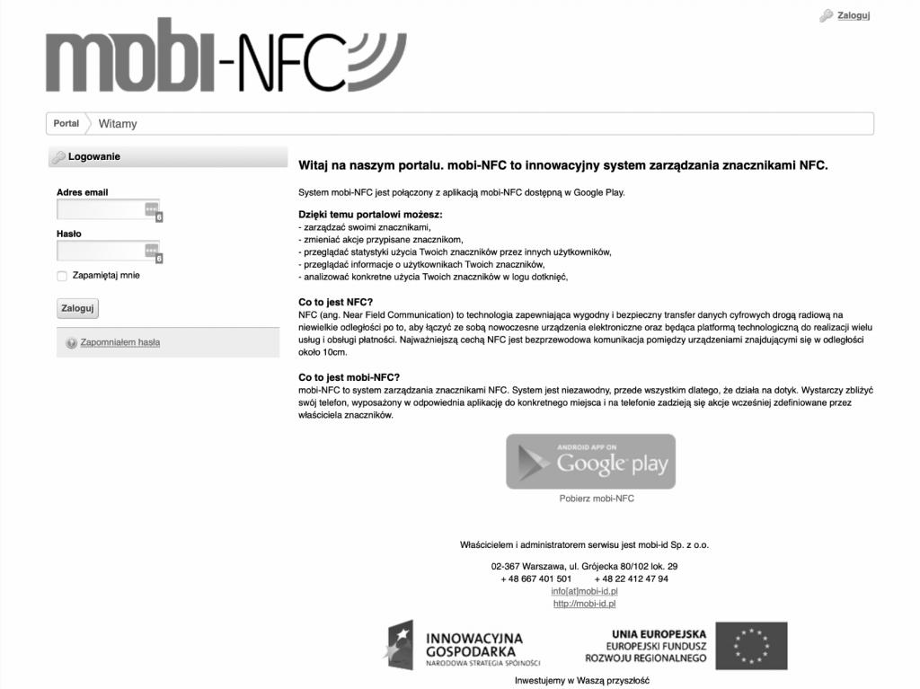 Platforma mobi-NFC